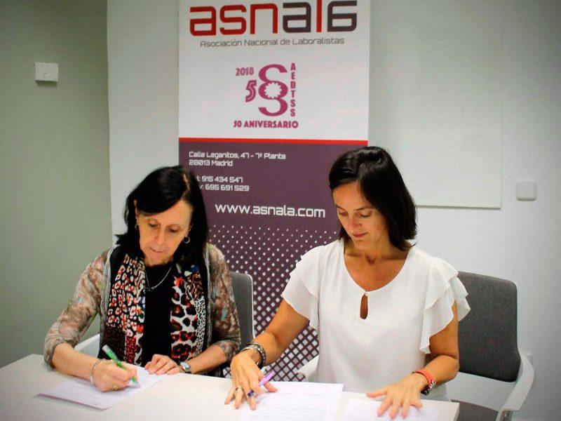 Firma convenio ASNALA