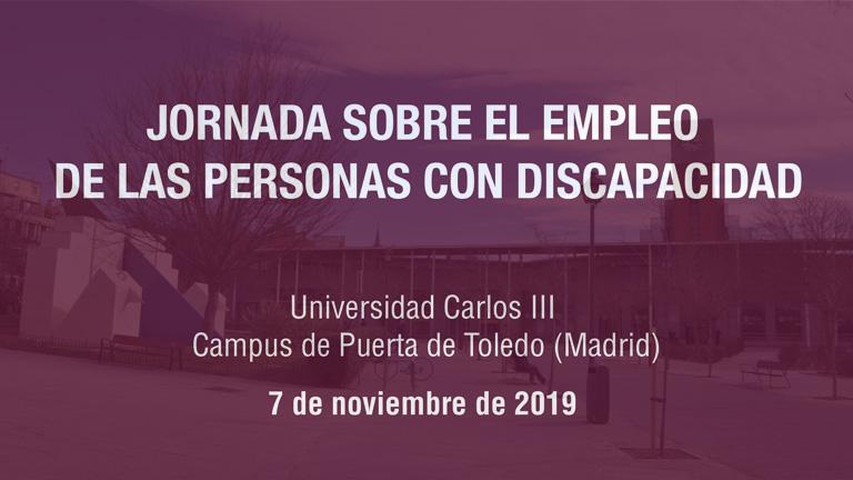 Jornada Empleo de las personas con discapacidad