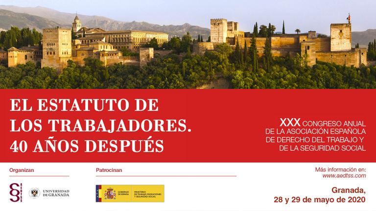 XXX Congreso AEDTSS Granada